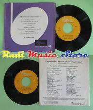 LP 45 7''ERIK THEN-BERGH Vier beliebte klavierstucke Nocturne Fur Elise no cd mc