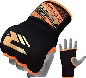 RDX Inner gloves boxing  bandage  Medium Size ORANGE