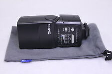 Used Nissin speedlite Di466 for Canon flashlight MINT with pouch