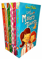Enid Blyton Malory Towers Collection 6 Books Set Children Gift Pack (1-6)