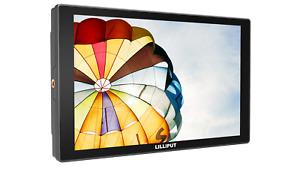 "Lilliput A11 10.1"" FHD PRO 4K HDMI SDI VGA Input Broadcast Monitor G+G + Anton B"