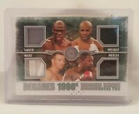 Tarver Moore Ward Mercer 2011 Ringside Decades 1990's Quad Boxing Card Silver