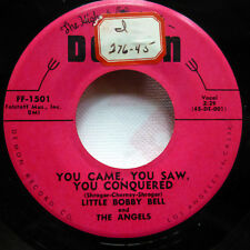 Little BOBBY BELL 45 Whole wide world / You came you saw... DEMON doowop Jr1038
