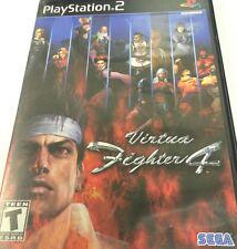 Japanese Import Virtua Fighter 4  JP Playstation 2 PS2