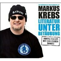 "MARKUS KREBS ""LITERATUR UNTER BETÄUBUNG"" 2 CD NEU"