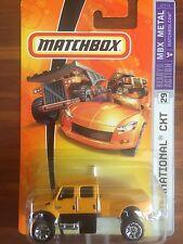 Matchbox - 2007 - MBX Metal - #29 - International CXT