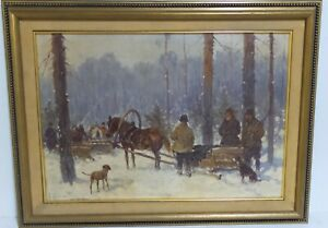 ADAM SETKOWICZ 1897-1945 LISTED POLISH OIL CANVAS PAINTING SIGNED FRAMED N/R
