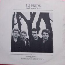 """U2-PRIDE - 1984 A-1U B-1U unique 12"""" UK pressing 12IS202"""