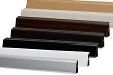 2,5 m Abschlussleiste 37 mm Höhe Wandabschluss Küche Arbeitsplatte Winkelleiste