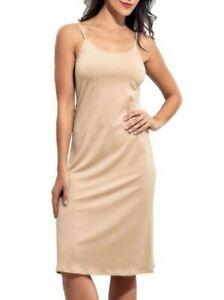 Doreanse Ladies Modal Undergarment Knee Length Petticoat Beige DA11129