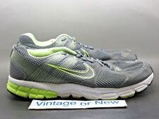 Men's Nike Zoom Structure+ 15 Anthracite Lime Green Running 472566-003 sz 10 4E