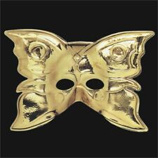 Librolandia 00085 Gold Butterfly Mask - Face Golden Theatre Shape Body Paint