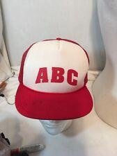 Vintage 80's ABC liquor Store Snapback Trucker Hat Mesh Baseball Cap New