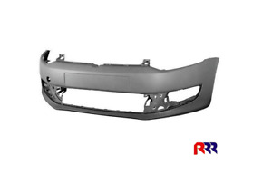 FOR VOLKSWAGEN POLO 6R 09-PR. FRONT BUMPER BAR COVER W/O WASH JET HOLE