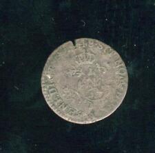 Louis XV US canadian Colonial Münzwesen Billon halber sol 1748 A
