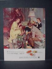 1951 US Beer Brewers Ad #60 in Series Showing off new Aquarium Vintage Ad 11484