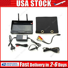 RC732-DVR 5.8G 32CH FPV 7'' LCD DVR Monitor 800*480 Receiver w/ Built-in Battery