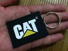 Norscot - Cat - Caterpillar - Keychain - Keyring - Plastic
