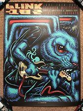 Munk One Blink-182 Art Print Poster Mondo Show Concert Tour Gig Southaven MS HTF