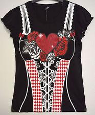Trachten Shirt Frauen - Größe M - Bluse Oktoberfest Wiesn Trachtenbluse Neu