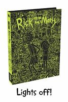 Art of Rick and Morty Hardcover Glow-in-the-Dark Book Justin Roiland New Mint
