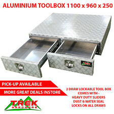 TOOLBOX HEAVY DUTY ALUMINIUM TOOL BOX STORAGE CABINET FOR TRAILER UTE TRUCK