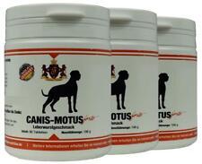 3 x Canis Motus forte Leberwurst - Glucosaminsulfat, MSM,Teufelskralle, Omega 3