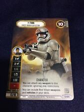 Star Wars Destiny Finn - First Order Defector Promo Card
