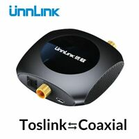 Optical Toslink To Coaxial Bidirectional Audio Converter HiFi 5.1 DTS Dolby