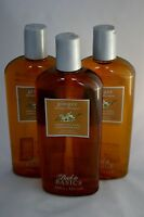LOT OF 3 Back To Basics Ginger Therapy Shampoo repairs Dry Frizzy Hair 12oz