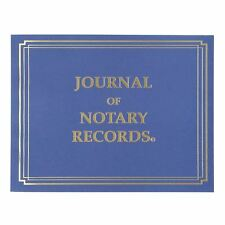 StampXpress Softcover Premium Notary Journal | 140 Pages with 600 Entries