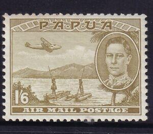 PAPUA 1941 AIRMAIL 1s 6d MUH very minor gum toning on corner cv £55  1693