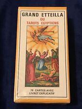 Cartomancie Voyance Divinatoire Grand Etteilla Tarots Egyptiens FR EN # Scellé