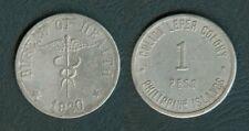 Philippines Culion 1920 1 Peso  LEPER COIN. Bureau of Health