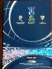 Bolton Wanderers v Sevilla - UEFA Cup Group H 14Dec05