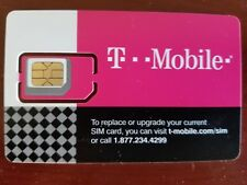 T-Mobile Sim card Prepaid $30/month plan (2 free months included)