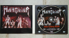 Manowar ‎– Into Glory Ride  CD im Digipack   Metal Blade Records  3984-14255-2