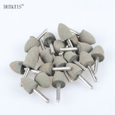 20pcs OD20 Taper Rubber with Abrasives Mounted Point Wheel for Power Tools