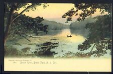 Old Postcard UNITED STATES Bronx River, Bronx Park, NEW YORK