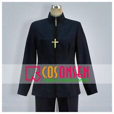 Cosonsen Fate/Zero Kirei Kotomine Cosplay Costume Black Full Set All Sizes