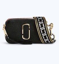Marc Jacobs Snapshot Small Camera Bag Black Chianti Crossbody