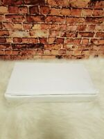 STERLING MANOR 650 TC LUXURY SATEEN 6PC WHITE QUEEN SHEET SET WRINKLE RESISTANT