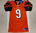 Vintage Carson Palmer Cincinnati Bengals #9 Orange NFL Jersey NEW