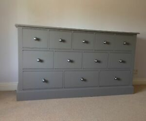 Painted 12 Drawer Multi Chest - Edwardian style