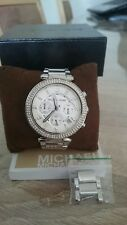 Michael Kors Parker Silver Ladies Watch MK 5353
