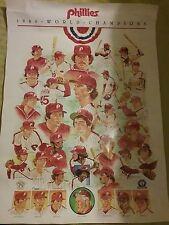 1980 Phillies World Champions Poster