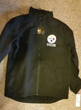 NFL Pittsburgh Steelers Mens Soft Shell 3 Layer Jacket with Tag of $79.99 - New