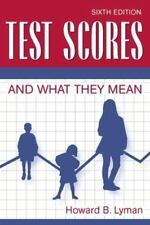 Test Scores and What They Mean (6th Edition)
