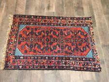 "Antique Vintage Tribal Design Persian Oriental Rug 30"" x 46"""