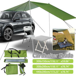 Car Side Awning Rooftop Tent Portable Waterproof Side Tent For Outdoor Camping